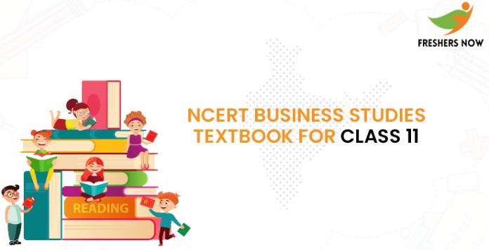 NCERT Business Studies TextBook For Class 11-min