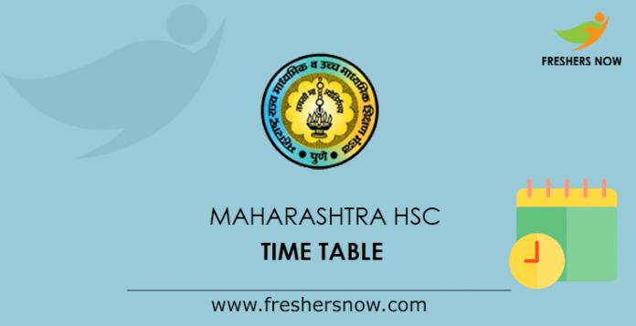 Maharashtra-HSC-Time-Table