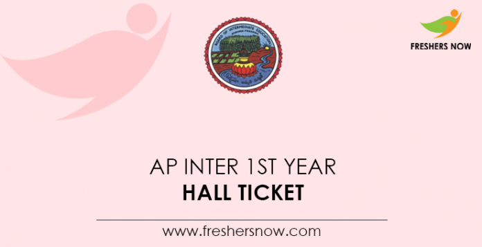 AP Inter 1st Year Hall Ticket