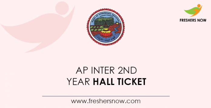 AP Intermediate 2nd Year Hall Ticket