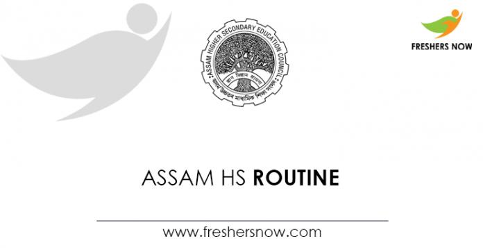 Assam-HS-Routine