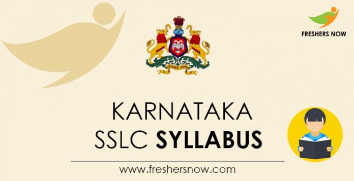 Karnataka SSLC Syllabus