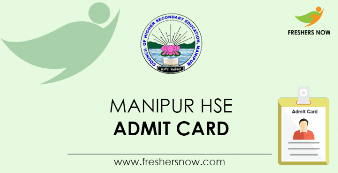 Manipur HSE Admit Card
