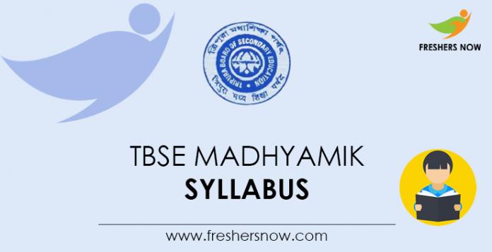 TBSE Madhyamik Syllabus