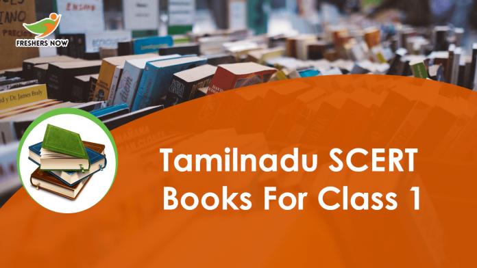 Tamil Nadu SCERT Books for Class 1