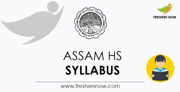Assam HS Syllabus