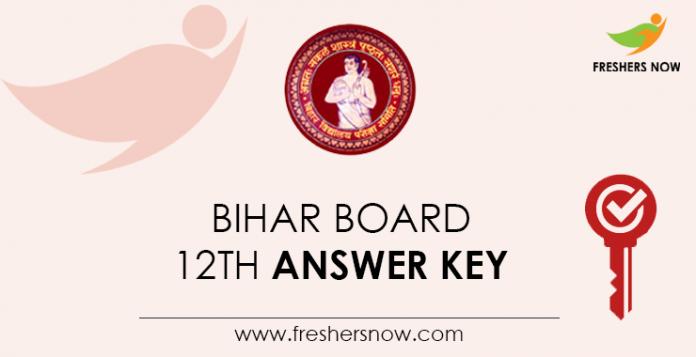 Bihar Board 12th Answer Key