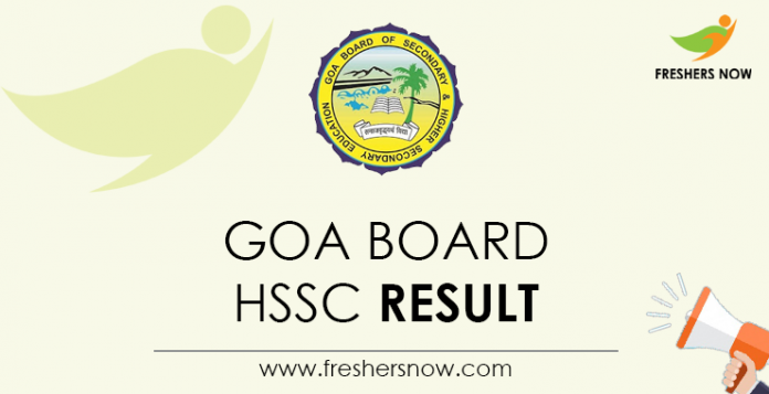 Goa Board HSSC Result