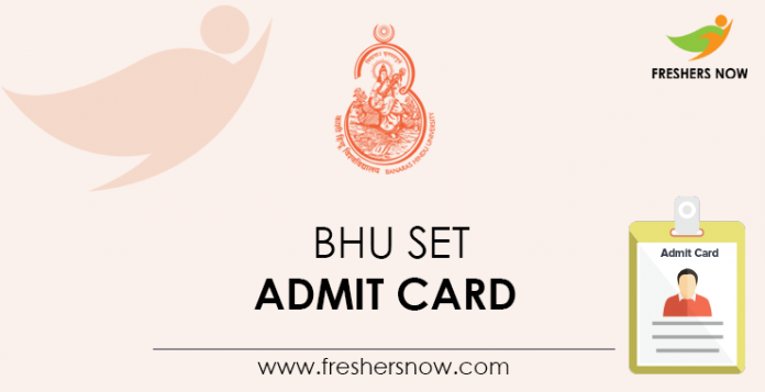 BHU-SET-Admit-Card