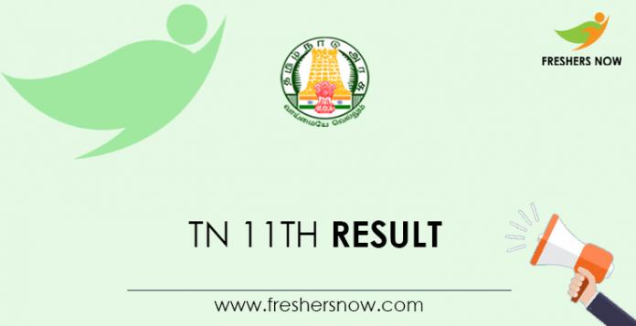 TN 11th Result