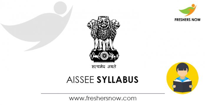 AISSEE Syllabus