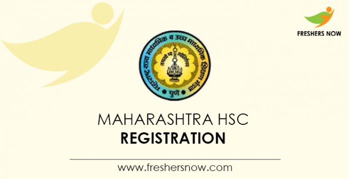 Maharashtra HSC Registration